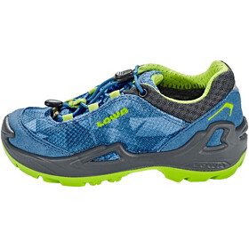 Lowa Ticino GTX Low Shoes Junior turquoise/lime
